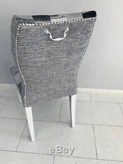 2 John Lewis Dining (Bedroom)Chairs Newly Upholstered in Patchwork Design