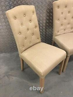 4x Neptune Sheldrake Upholstered Kitchen Dining Room Chairs RRP£1640