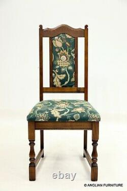 6 Wood Bros' Old Charm Dining Chairs In Light Oak FREE Nationwide Delivery