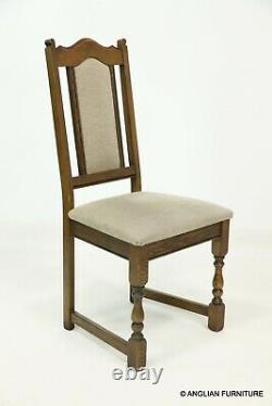6 Wood Bros Old Charm Dining Chairs In Light Oak FREE Nationwide Delivery