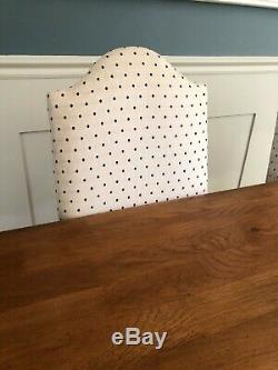 6 upholstered dining chairs oak