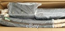 6 x Brand New Grey Upholstered Dining Chairs