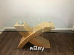 Beautiful Glass Dining Table With 4 Upholstered Chairs
