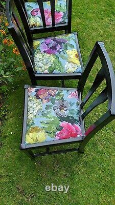 Dining Chairs Set Of 4 Upholstered Designer Guild Kitchen Chair Furniture Wood