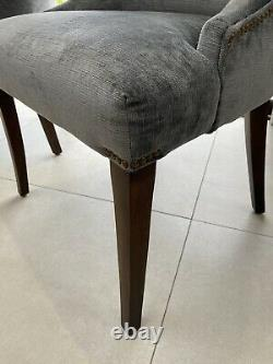 Dining Chairs Upholstered X 4