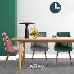 Dining Chairs for kitchen Mid Century Modern Side Chair Velvet Upholstered Chair