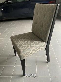 Dining Table and 6 Upholstered Chairs