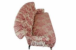 Early 20th Century 3 Piece Upholstered Salon Suite