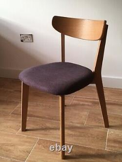 House by John Lewis Clio Chairs x4, upholstered