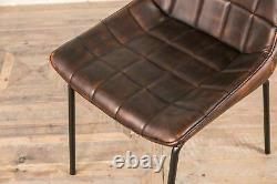 Leather Look Upholstered Dining Chairs Leather Look Kitchen Chairs