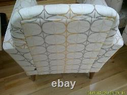 NEXT Extending Dining Table, Six Upholstered Chairs and Matching Armchair