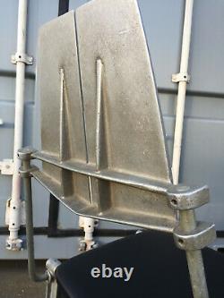 Robert Josten Cast Aluminum Chairs Set Upholstered c. 1970-1980