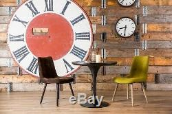 Scandinavian Style Dining Chair Upholstered Fabric And Leather Chairs