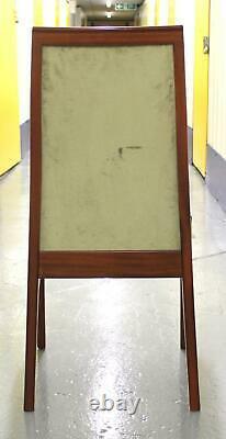 Set of 4 Vintage c1986 G Plan Teak Dining Chairs Velvet Upholstery Excellent