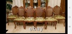 Set of 6 antique dining chairs