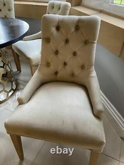 Six Neptune Henley Dining Upholstered Chairs