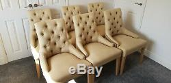 Six Neptune Henley Dining Upholstered Chairs. Good conditionDELIVERY AVAILABLE
