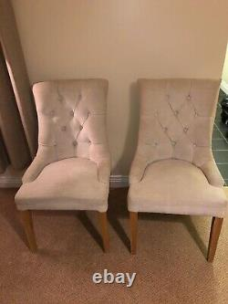 Upholstered Dining Chairs (NEXT) X 4