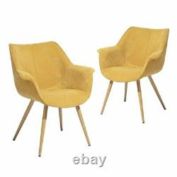 Wayfair Aisling Upholstered Dining ChairS (Set of 2) RRP £186.99! SAVE £67