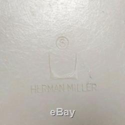 Yellow Herman Miller Vintage Original Eames Upholstered DSR Dining Side Shell
